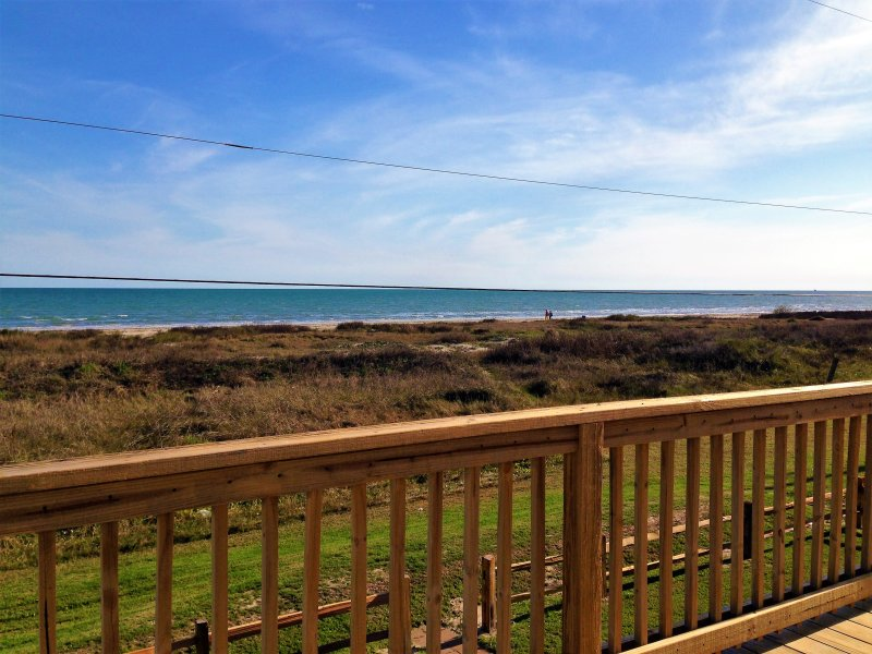 Beachfront- Barnacle Sleeps 8 - Image 1 - Galveston - rentals
