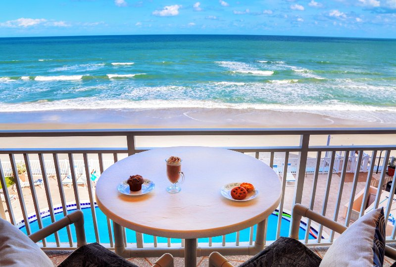 Million $ direct oceanfront view! Walkout from the living room & master bedroom! - Direct Ocean Front PENTHOUSE    Stunning Views!! - Satellite Beach - rentals