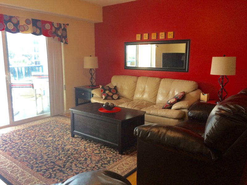 Living Room - New Smyrna Beach, Florida, Refurbished Condo - New Smyrna Beach - rentals