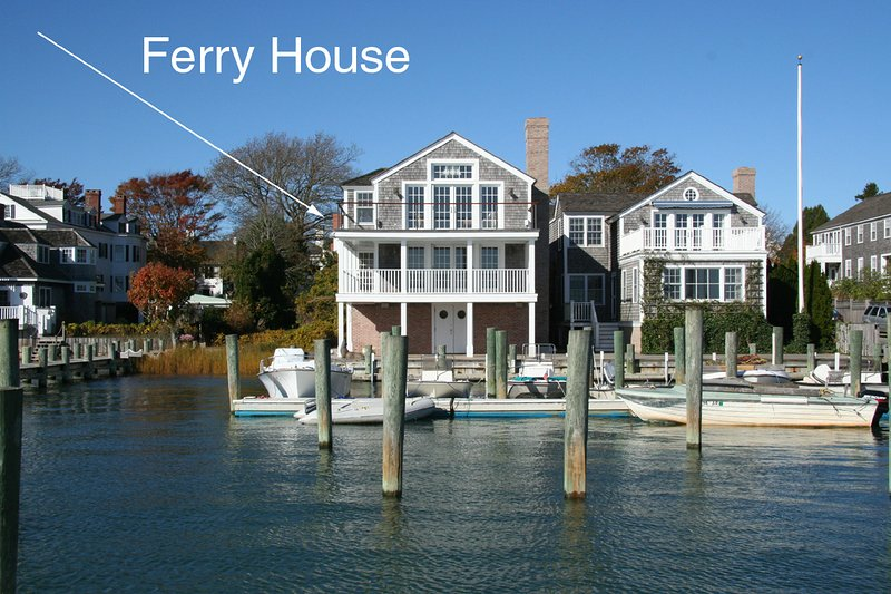 Ferry House on the Left - THARF - The Ferry House, Luxury In Town Harborfront Home - Edgartown - rentals