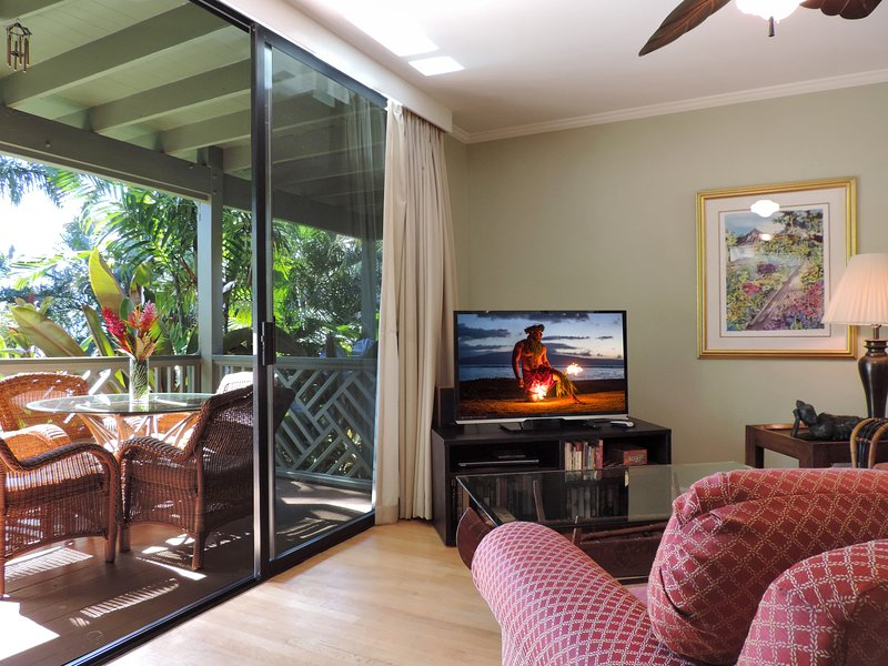 Indoor/Outdoor living in this spacious one-bedroom - 1Bdrm w/Full Kit. Free Wi-Fi-Walk To Poipu Beach - Poipu - rentals