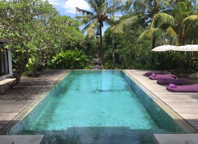 Tempat Damai Luxury 3 Bedroom Villa, Rice Field View, Canggu - Image 1 - Canggu - rentals