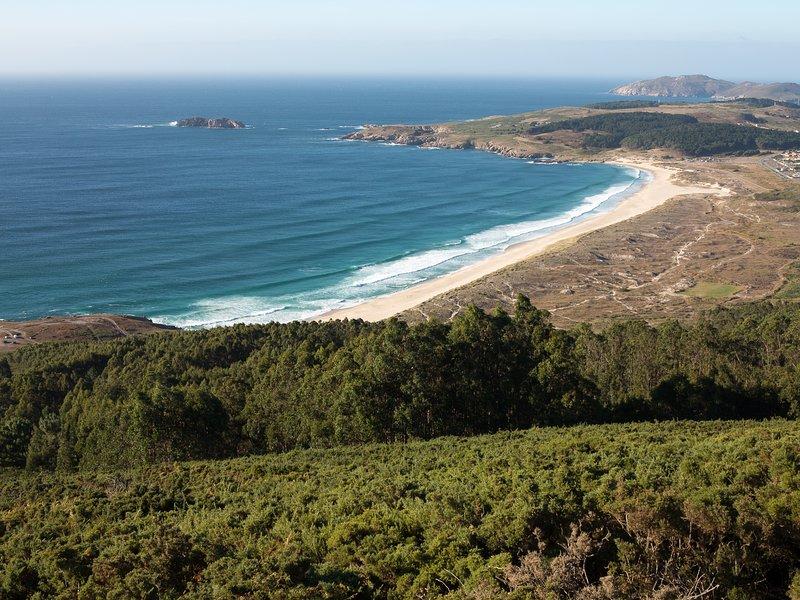 The beach of Doniños - La Entretenida , house in the coast of Galicia - El Ferrol - rentals