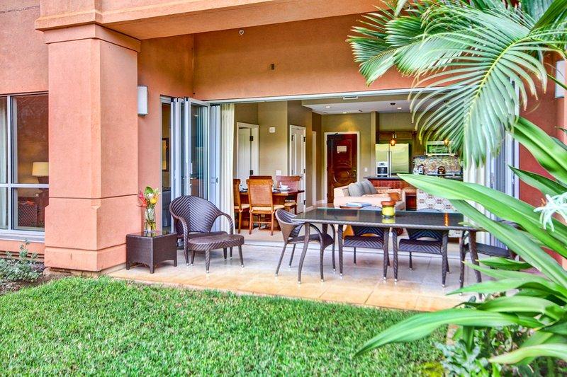 Maui Resort Rentals: Honua Kai Konea 136 – Ground Floor 1BR w/ Lawn Area + Easy - Image 1 - Lahaina - rentals