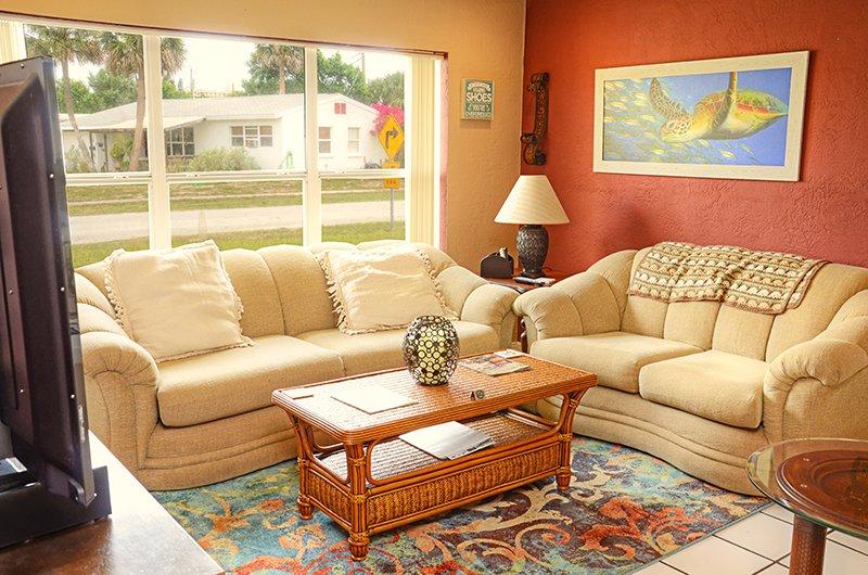 JUNE/JULY $PECIALS - BEACHSIDE HOME -HUGE PATI0- 2BR/BA -  #110 - Image 1 - Ormond Beach - rentals