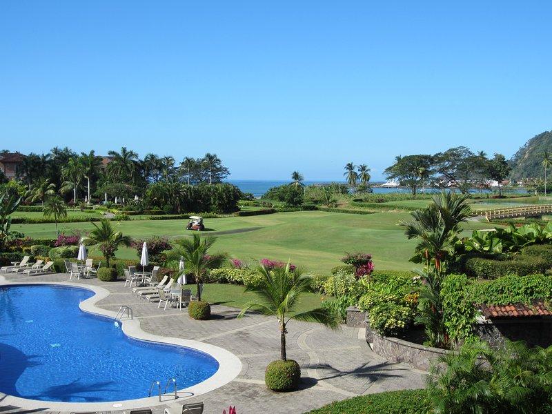 Breathtaking view from private terrace - Marriott Los Sueños Resort & Marina - 3 Bedroom Del Mar with Breathtaking Views - Herradura - rentals