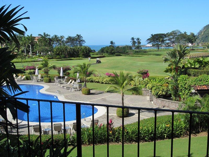 ACTUAL breathtaking view from private terrace - Marriott Los Sueños Resort & Marina - 3 Bedroom Del Mar with Breathtaking Views - Herradura - rentals