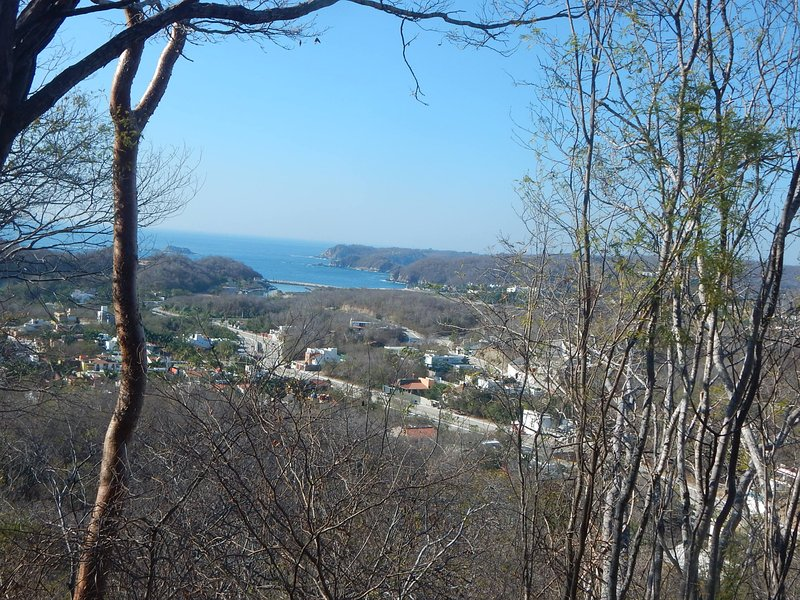 The Heavenly Villa is at the base of North Hill.  Beach is 15 min. walk.  Explorers can climb hill. - Heavenly Villa,   Sale $75 thru June. - Huatulco - rentals