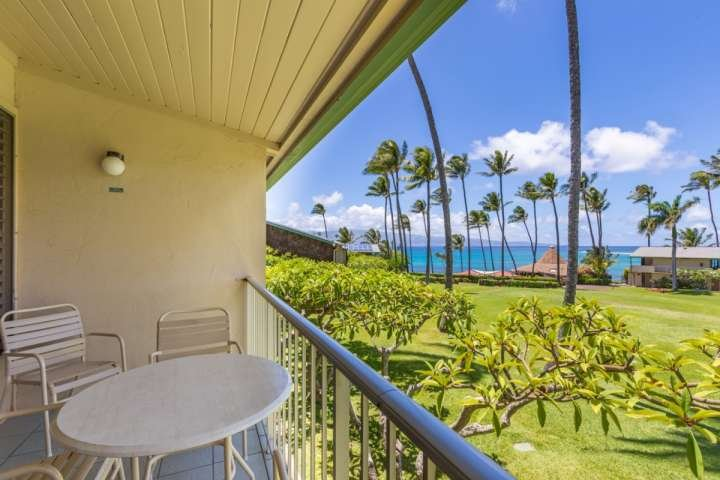 In addition to the wonderful views, amenities include two pools, shuffle board, and direct beach access. - Napili Shores Resort G-256 - Napili-Honokowai - rentals