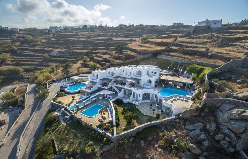 Blue Villas | Ornos Gem | Family Friendly - Image 1 - Ornos - rentals