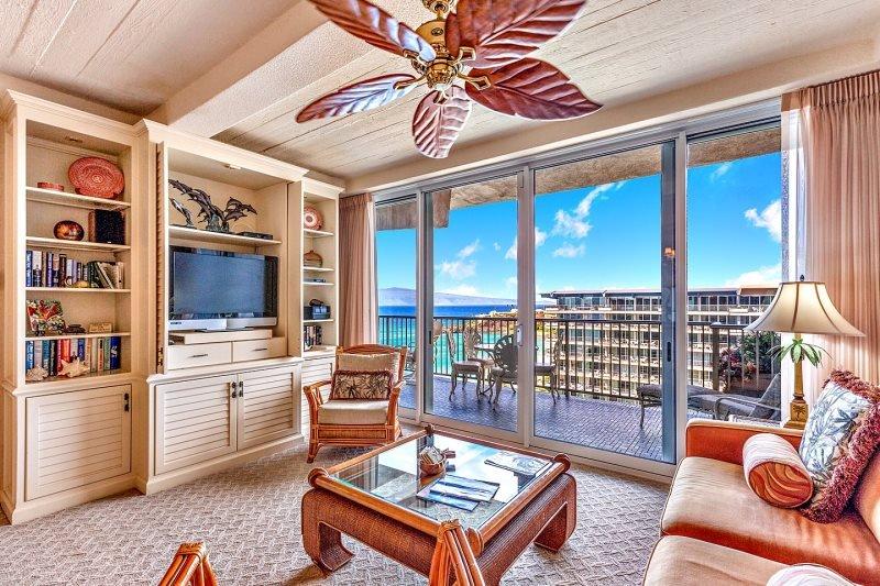 Whaler 1260 - One Bedroom, Two Bath Ocean View Condominium - Image 1 - Lahaina - rentals