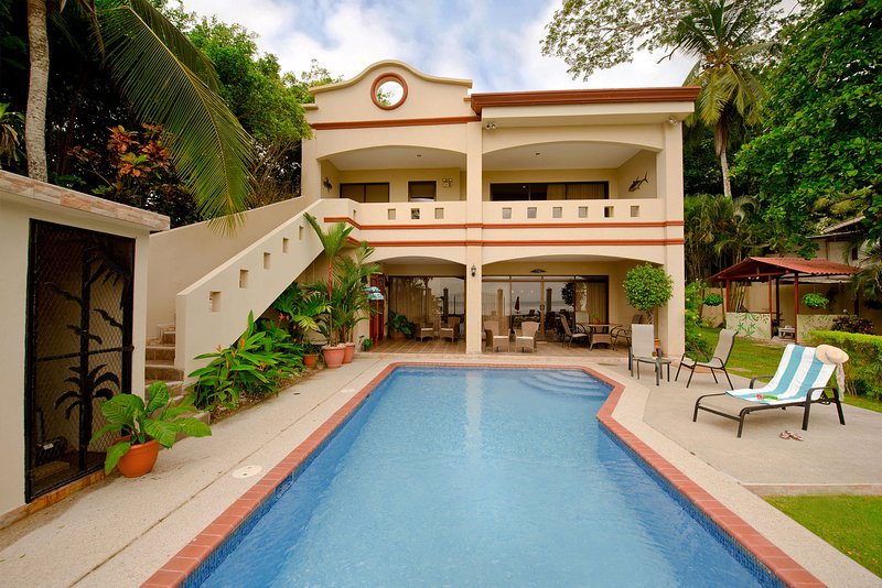 Jaco Beach Luxury Oceanfront House - Casa Rio Mar - Image 1 - Jaco - rentals