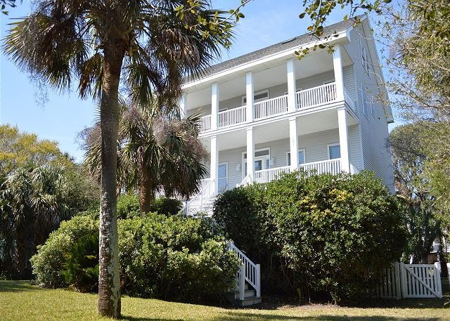 Front of the home - McCarolina - Grand Three Story Home Near Beach - Blue Mountain Beach - rentals