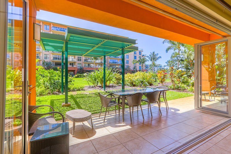 Welcome to Honua Kai--You have arrived - Maui Resort Rentals: Groundfloor Interior Honua Kai Konea 145 - Lahaina - rentals