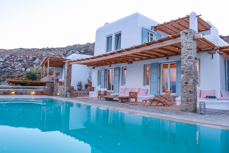 Blue Villas | Cynthia Blue | Family Friendly - Image 1 - Elia Beach - rentals