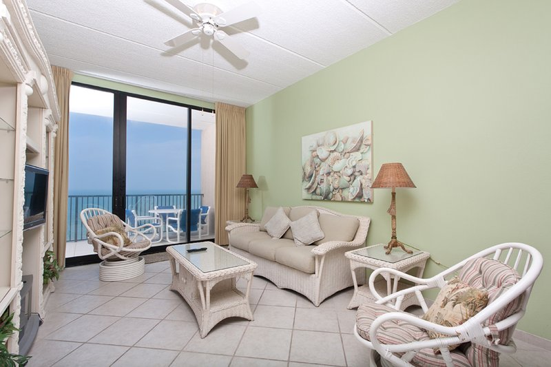 Living Area - Suntide III 1209 - South Padre Island - rentals