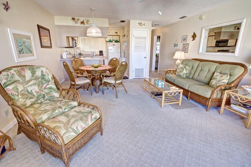 Hibiscus Resort - H303, Garden View, 2BR/2BTH, 3 Pools, Wifi - Image 1 - Saint Augustine - rentals