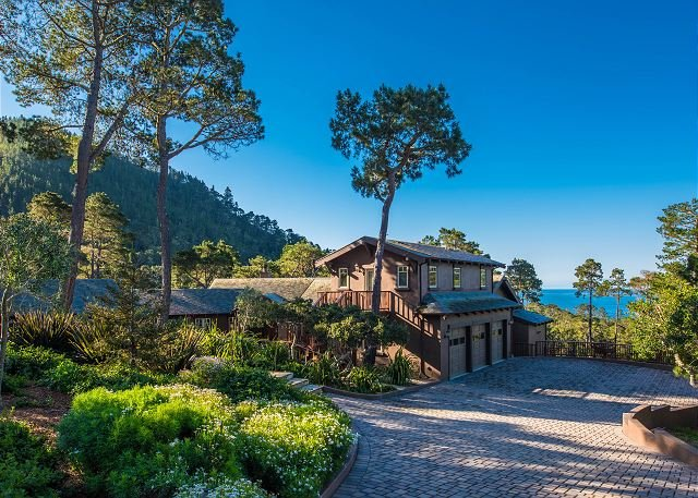 Welcome to Pacific's Edge Sanctuary!  - 3707 Pacific's Edge Sanctuary  - 16 Acre Estate! Stunning Ocean Views! - Carmel Highlands - rentals