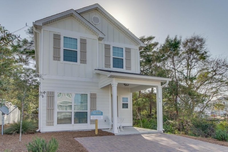Stylish, modern beach cottage in quieter location, close to the shoreline! - Image 1 - Panama City Beach - rentals