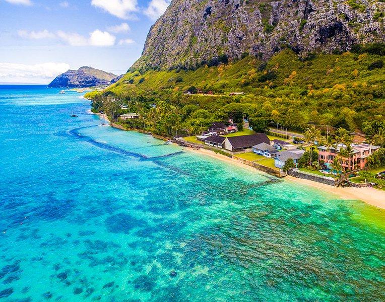 Royal Hawaiian Estate 6BR Main House ~ Luxurious Oceanfront~Pool~Sauna~Gym - Image 1 - Waimanalo - rentals