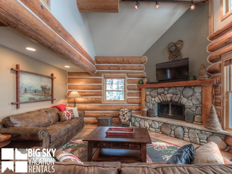 Big Sky Resort | Powder Ridge Cabin 21 Rosebud Loop - Image 1 - Big Sky - rentals