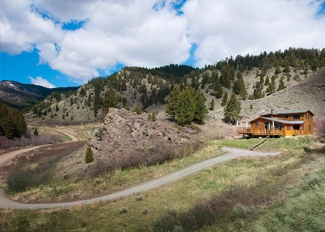 Off the beaten path, this home is nestled in the Bangtail foothills.  - Bangtail Cabin - Livingston - rentals