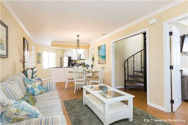 "Casa Bella ""A"" - 3 Bed / 3 Ba Condo - Sleeps 8 - STEPS TO THE BEACH - Image 1 - Fort Myers Beach - rentals"