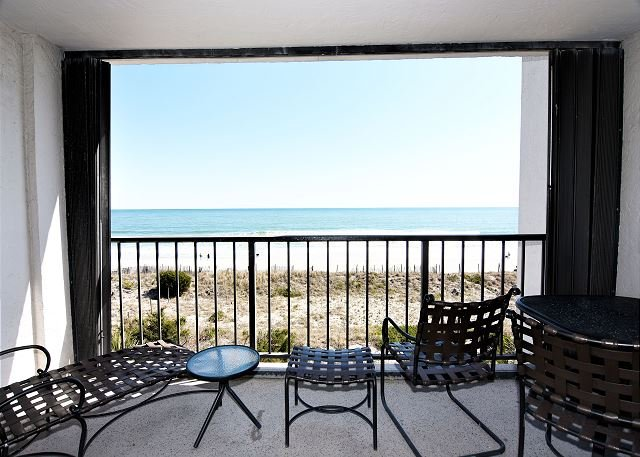 Station One 3B Oceanfront Balcony - Station One-3B The Haven-Oceanfront condo with community pool, tennis, beach - Wrightsville Beach - rentals