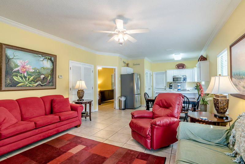 Open & spacious living area - Serendipity (4280 B) - Orange Beach - rentals