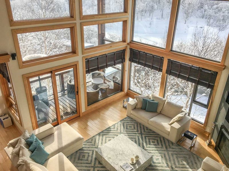 Zekkei, 6BR Luxury Alpine Chalet in Hirafu, Epic Yotei Views, Kids Room - Image 1 - Kutchan-cho - rentals