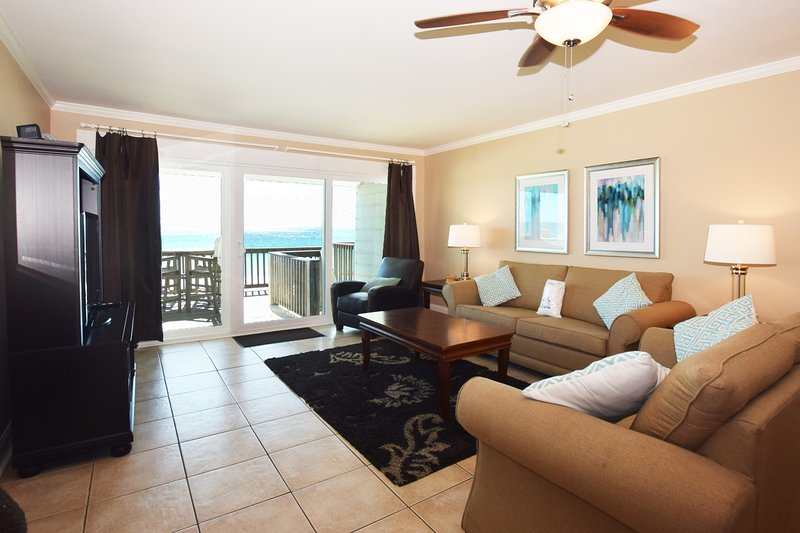 Living Room Sandollar Townhomes Unit 11 Miramar Beach Destin Florida Vacation Rentals - Sandollar Townhomes, Unit 11C - Destin - rentals