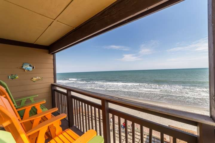 On the third, top, floor of Afterdeck.  This is the view you and your family will enjoy, this isn't a model unit. - Afterdeck 304 - Murrells Inlet - rentals
