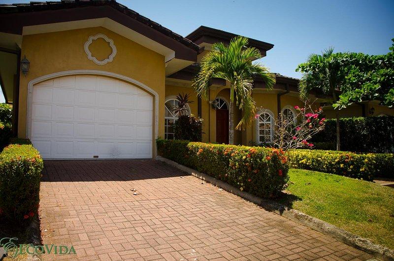 Casa Miguel has 3 bedrooms, 3 bathrooms and a garage! - EcoVida Casa Miguel - Walk to the Beach! Huge Community Pools! - Playa Bejuco - rentals