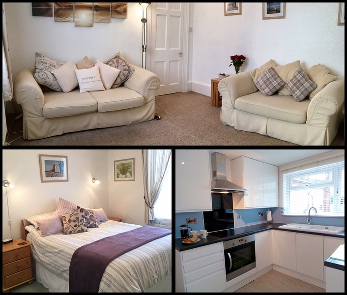 Sunnydeck Holiday Apartment - SUNNYDECK. Close to beach, town & estuary. Off road parking. Free WiFi. Sleeps 2 - Exmouth - rentals