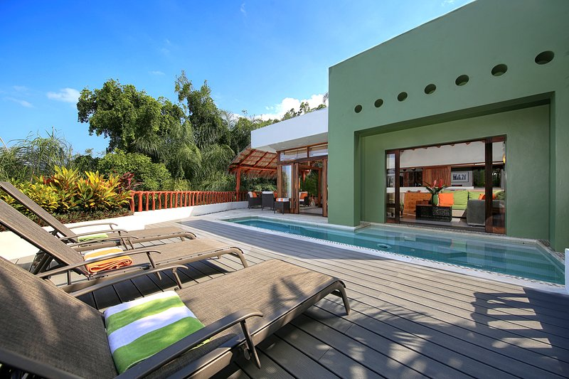 Front Terrace - Villa Cherimoya -Private Pool - Walk to Beach/Town - Sayulita - rentals