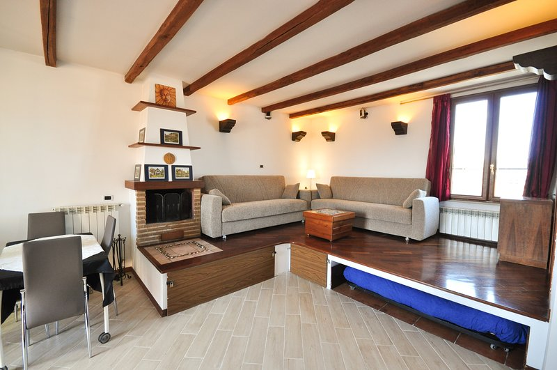 Living Room - Luxury Studio Penthouse Testaccio - Rome - rentals