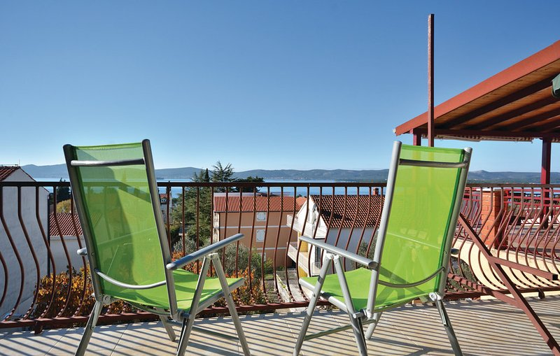 Sweeping Ocean views from your private balcony - Ocean View apartment with large balcony - Sv. Filip i Jakov - rentals
