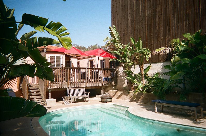 Private  Deck, Cabana, Pool  and Yard. None are shared /W PARKING - HISTORIC OLD TOWN DISTRICT STUDIO ,POOL and CABANA / W PARKING ! Pets Welcome - Pacific Beach - rentals