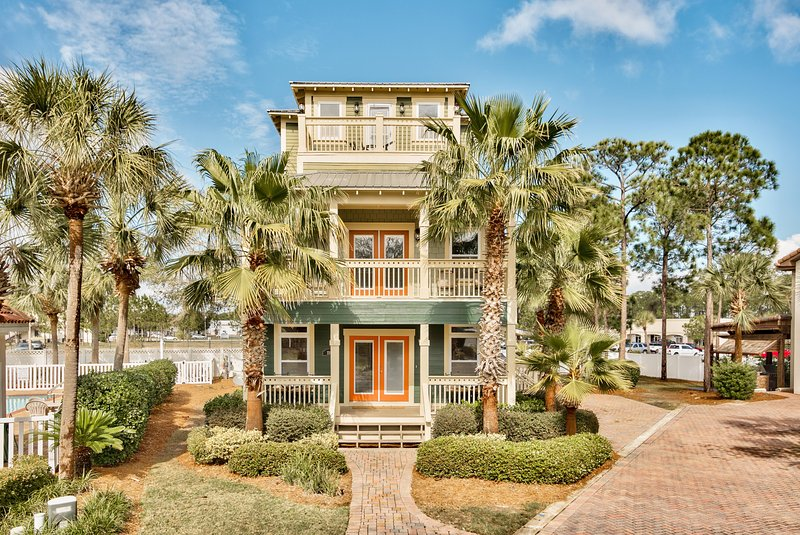 Front View of Our Emerald Coast Retreat - Destin Emerald Coast Retreat, Ideal for Families - Miramar Beach - rentals