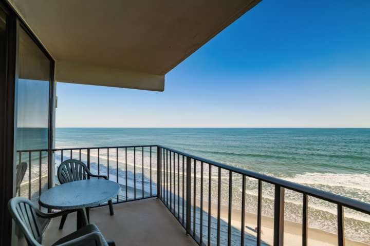 This is the view you and your family will enjoy, this isn't a model unit. - Royal Gardens 406 - Surfside Beach - rentals
