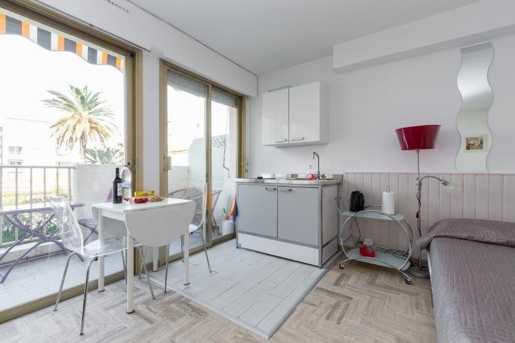 Cannes Maubourg Studio with a Balcony - Image 1 - Cannes - rentals