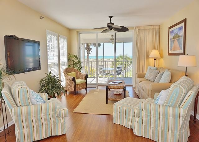 Dazzling superior two bedroom Gulf front villa - Image 1 - Cape Haze - rentals