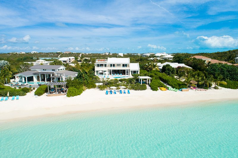 Villa Blue Heaven 4/5 BR-Fabulous Sandy Beach/Pool/Kayaks/Paddleboards/Sunsets! - Image 1 - Providenciales - rentals
