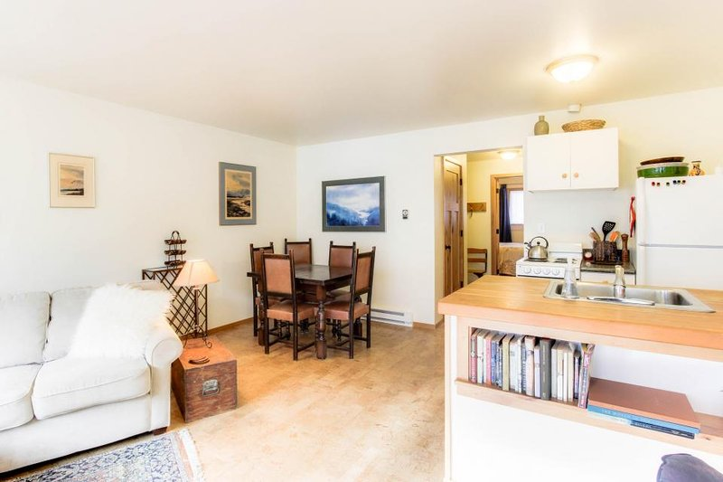 Cozy condo w/stunning mountain views! Near the ski lifts + access shared pool! - Image 1 - Ketchum - rentals