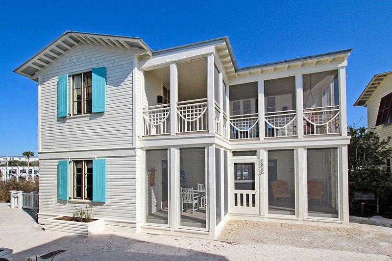 rear exterior - Love Me Tender/True - Seaside - rentals