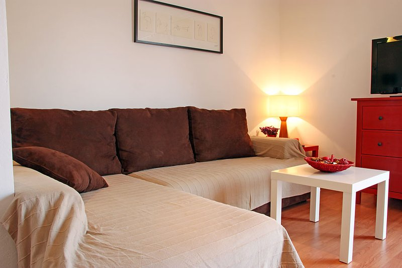 Very comfortable couch (that turns into a bed) - Modern Apartment with Seaview in the Very Heart of Old Rovinj - Rovinj - rentals