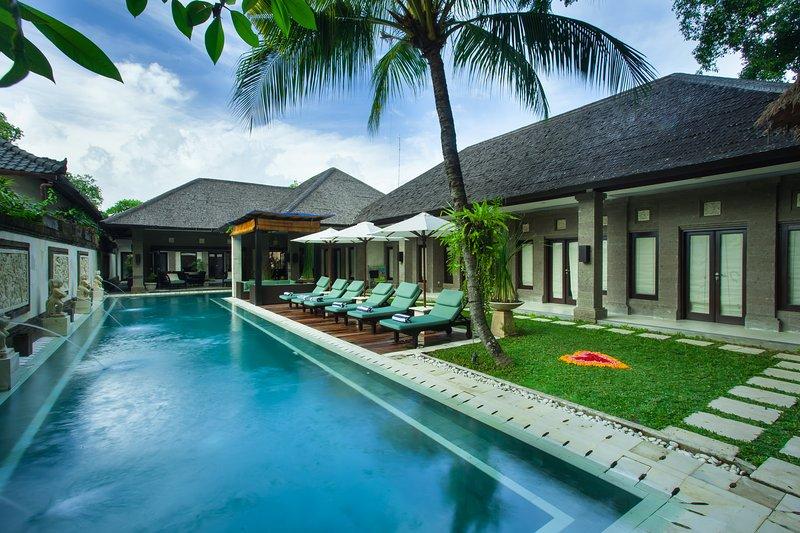 Your View Entering The Villa - Villa Dewata II - 5 Star Luxury. Perfect Location - Seminyak - rentals