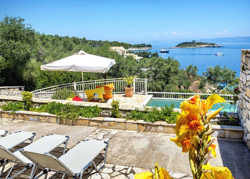 Villa Avgerini Paradise overlooking the Ionian sea - Image 1 - Gaios - rentals