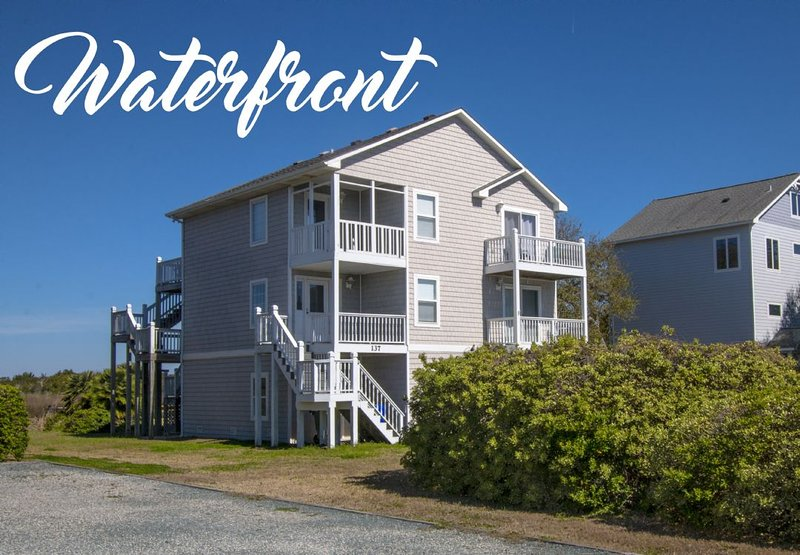 137 Old Village Lane  - Old Village Lane 137 Sound View! | Community Pool, Tennis, Private Dock (not - North Topsail Beach - rentals