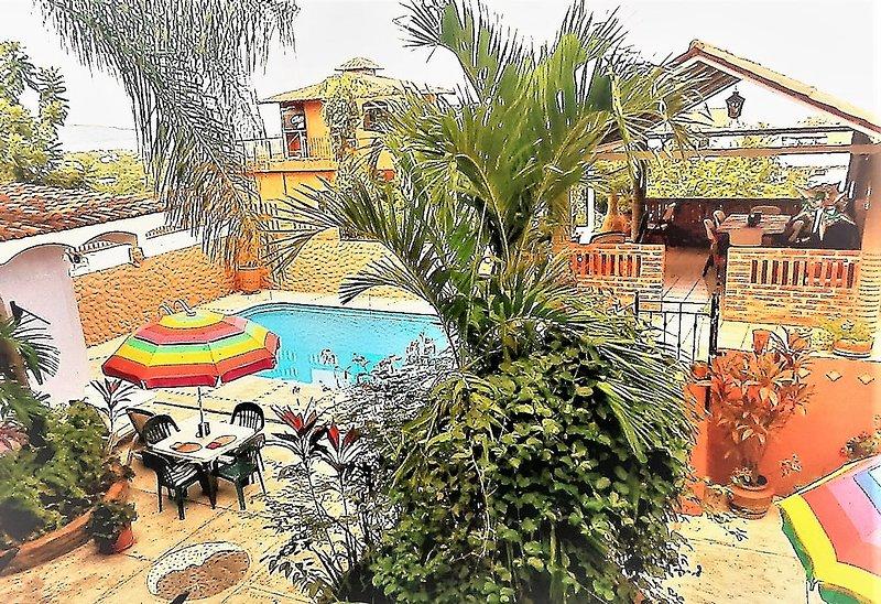 A PRIVATE TROPICAL HIDE-AWAY - 2 Bdrm Villa, Pool, Walk to Beach, Naturalist Host - La Penita de Jaltemba - rentals